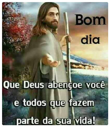 Imagens de Bom Dia Com Jesus sua vida